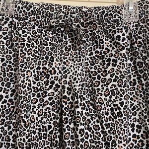 Victoria's Secret cotton cheetah print pj pants